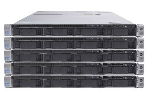 "HP Proliant DL360p Gen8 1x4 3.5"", 2 x E5-2660 2.2GHz Eight-Core, 16GB, Smart Array P420, HP iLO - 5 Pack"