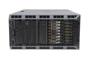 "Dell PowerEdge T620-R 1x16 2.5"", 2 x E5-2680v2 2.8GHz Ten-Core, 128GB, 8 x 1.8TB 10k SAS, PERC H710"