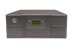 Dell PowerVault TL4000 with 1 x LTO-6 SAS Half Height Tape Drive