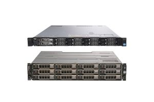 Dell PowerEdge R620, 2 x E5-2609, 16GB, 2 x 146GB SAS, PERC H310, iDRAC7 Ent and MD1200 with 6 x 6TB SAS