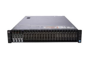 "Dell PowerEdge R730xd 1x24 2.5"", 2 x E5-2699v3 2.3GHz Eighteen-Core, 128GB, 4 x 1.6TB SSD SAS, PERC H730, iDRAC8 Ent"