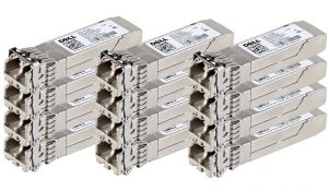 Dell Avago 10Gb SFP+ FC Short Range Transceiver - WTRD1 - *12 Pack* - Ref