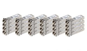 Dell Avago 10Gb SFP+ FC Short Range Transceiver - WTRD1 - *24 Pack* - Ref