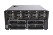 Dell PowerEdge VRTX Rack 1x25, 25 x 1TB SAS, 4 x M630P, 2 x E5-2620v3 Six-Core 2.4GHz, 32GB, H730, iDRAC8 Ent