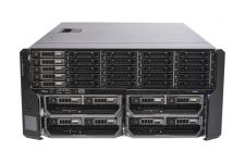 Dell PowerEdge VRTX Rack 1x25, 5 x 1TB SAS, 2 x M620P, 2 x E5-2650 Eight-Core 2.0GHz, 32GB, H710, iDRAC7 Ent