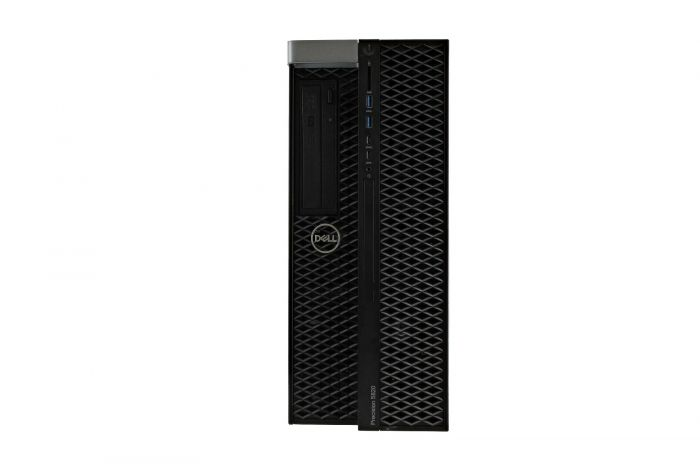 Dell Precision T5820, 1 x Xeon W-2133 3.6GHz 6-Core, 1TB HDD, 256GB SSD SATA, P1000