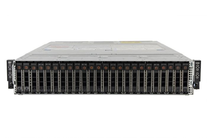 Dell PowerEdge C6420 1x24, 8 x Gold 6126, 512GB, 24 x 1.6TB SSD, Onboard SATA, Basic Management