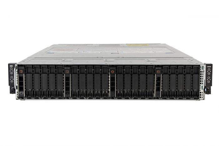 Dell PowerEdge C6420 1x24, 8 x Silver 4114, 512GB, 4 x 1TB, Onboard SATA, Basic Management