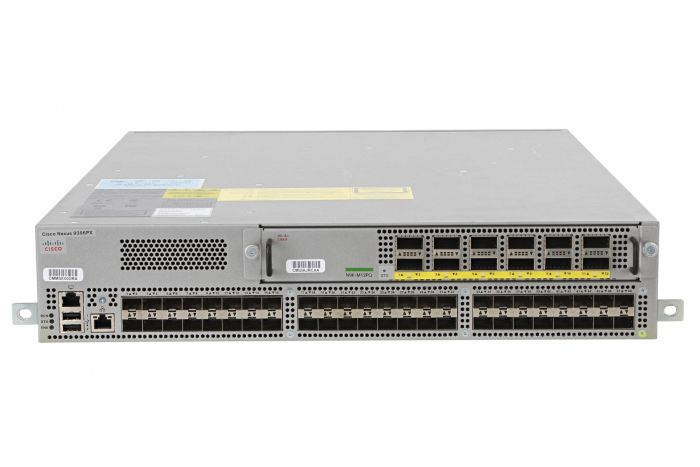Cisco Nexus N9K-C9396PX Switch 48x 10Gb SFP+ Ports w/ 1x N9K-M12PQ Module