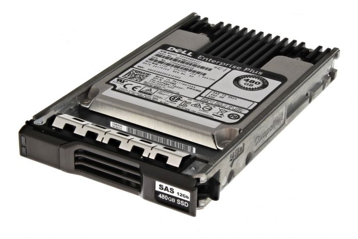 """Compellent 480GB SAS 2.5"""" 12G Solid State Drive (SSD) - XP6MK - New Pull"""