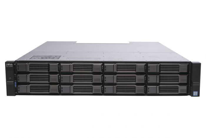 Dell Compellent SCv2000 with 10Gb/s iSCSI Controllers 12 x 4TB 7.2k