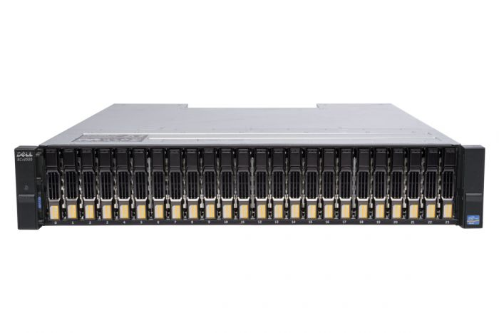 Dell Compellent SCv2020 with 12Gb/s SAS Controllers 24 x 3.84TB 12G SSD SAS