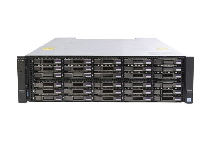 Dell Compellent SCv3020 with 10Gb/s iSCSI Controllers 30 x 1TB 7.2k