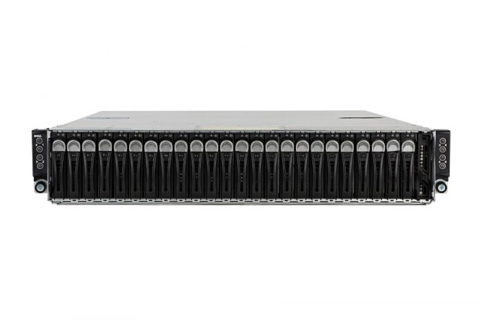 "Dell PowerEdge C6320 1x24 2.5"", 8 x E5-2660v4, 256GB, 24 x 1TB SAS, LSI SAS 2008, iDRAC8 Ent"