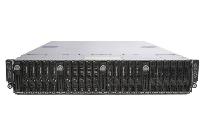 Dell PowerEdge C6220 1x24 4 x Node Server 8 x E5-2670, 256GB, 4 x 400GB SATA, OB SATA