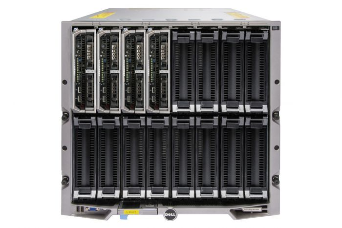 Dell PowerEdge M1000e - 4 x M630, 2 x E5-2650v3, 128GB, PERC H730, iDRAC8 Ent