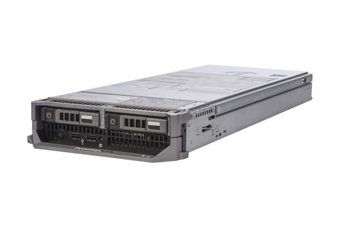 Dell PowerEdge M620 1x2, 2 x E5-2620v2 2.1GHz Six-Core, 32GB, 2 x 480GB SSD SATA, PERC S110, iDRAC7 Ent
