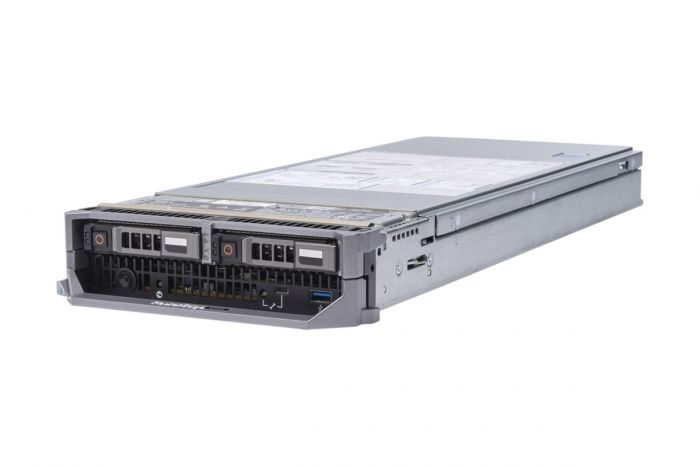 Dell PowerEdge M640 2 x Gold 6126 2.6GHz Twelve-Core, 96GB, 2 x 3.84TB SAS SSD, PERC H330, iDRAC9 Exp