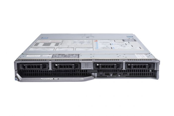 Dell PowerEdge M820 1x4, 4 x E5-4607 2.2GHz Six-Core, 32GB, PERC H710, iDRAC7 Ent