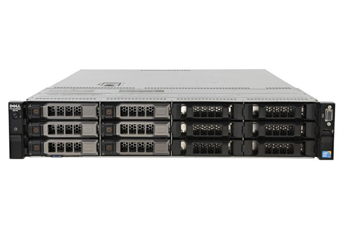 "Dell PowerEdge R510 1x12 3.5"", 2 x L5520 2.26Ghz Quad-Core, 16GB, 6 x 1TB SAS, PERC H700"