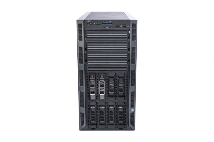 "Dell PowerEdge T330 1x8 3.5"", 1 x E3-1220v5 3.0GHz Quad-Core, 32GB, 2 x 2TB SAS 7.2k, PERC H730, iDRAC8 Ent"