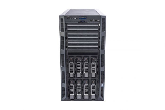 "Dell PowerEdge T330 1x8 3.5"", 1 x E3-1220v6 3.0GHz Quad-Core, 64GB, 8 x 6TB SAS 7.2k, PERC H730, iDRAC8 Ent"