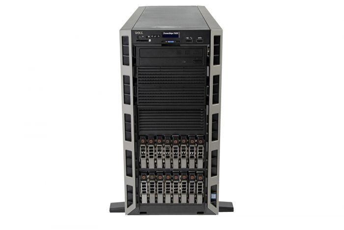 Dell PowerEdge T630 1x16, 2 x E5-2640v3 2.6GHz Eight-Core, 32GB, 16 x 900GB 10k SAS, PERC H730