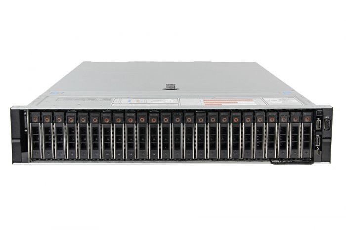 "Dell PowerEdge R740xd 1x24 2.5"", 2 x Silver 4110 2.1GHz Eight-Core, 64GB,  24 x 800GB SAS, PERC H730, iDRAC9 Ent"