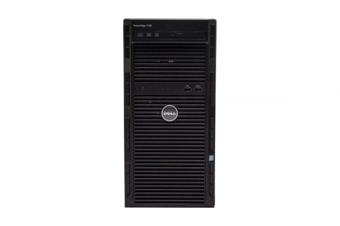 Dell PowerEdge T130, E3-1280v5 3.7GHz Quad-Core, 32GB, 4 x 8TB 7.2k SAS, PERC H730