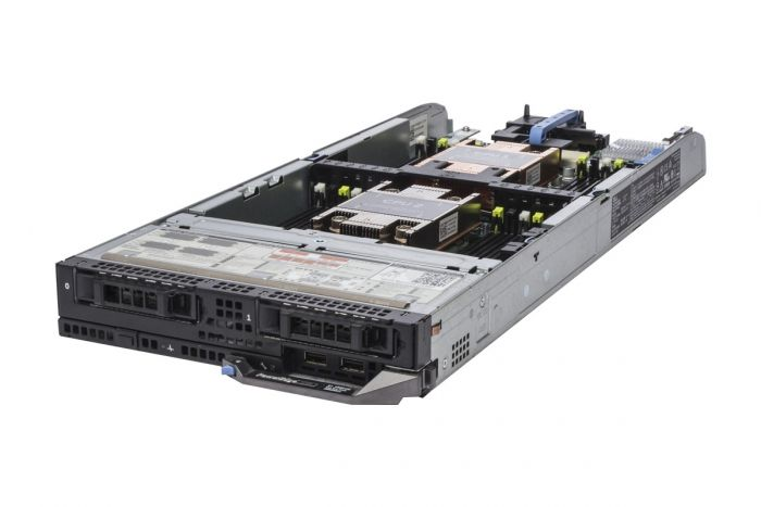 Dell PowerEdge FC630 2 x E5-2690v3 2.6GHz Twelve-Core, 64GB, 2 x 300GB SAS, H730, iDRAC8 Ent