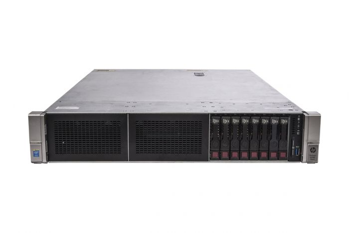 "HP Proliant DL380 Gen9 1x8 2.5"", 2 x E5-2620v3 2.4GHz Six-Core, 32GB, 8 x 300GB, P440ar/2GB"