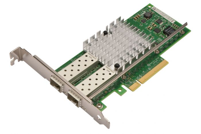 Dell Intel X520-DA2 10Gb Dual Port Full Height Network Card - U810N