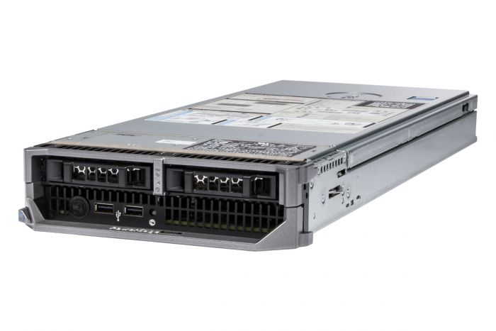 Dell PowerEdge M520 1x2, 2 x E5-2440 2.4GHz Six-Core, 32GB, PERC H710, iDRAC7 Ent