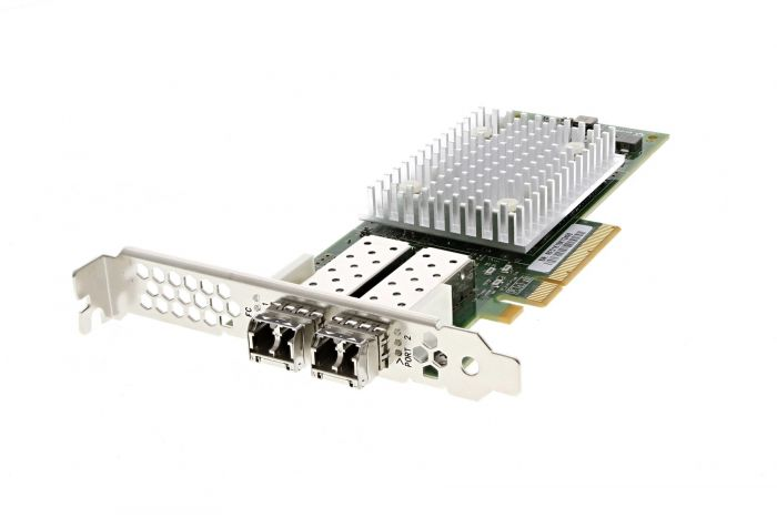 Dell QLogic QLE2742-DEL 32Gb Dual Port Full Height Host Bus Adapter - T3TK5