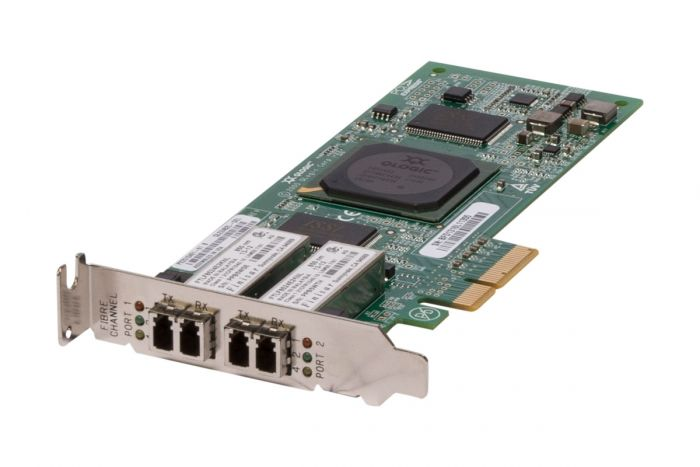 Dell QLogic QLE2462-DEL 4Gb/s Dual Port Low Profile Fibre HBA - P23M2