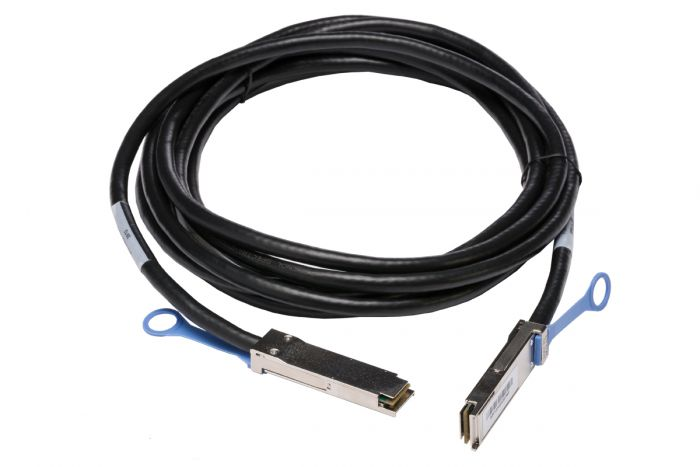 Dell QSFP+ Direct Attach Copper Cable 5M  DAC-QSFP-40G-5M - J90VN