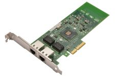 Dell Intel PRO/1000ET 1Gb Dual Port Full Height Network Card - G174P - Ref