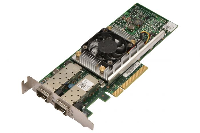 Dell Broadcom 57810 10Gb SFP+ Dual Port Low Profile Network Card - Y40PH