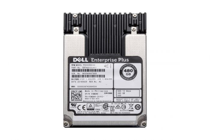 """Compellent 480GB SAS 2.5"""" 12G eMLC Solid State Drive SSD 5MGN8"""
