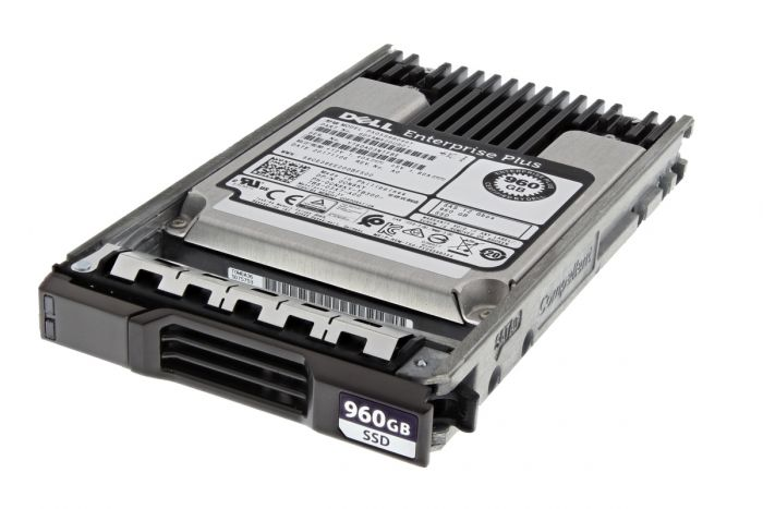 """Compellent 960GB SAS 2.5"""" 12G Solid State Drive SSD - CN8KY"""