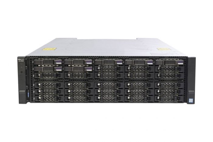 Dell Compellent SCv3020 with 16Gb/s Fibre Controllers 7 x 1TB 7.2k