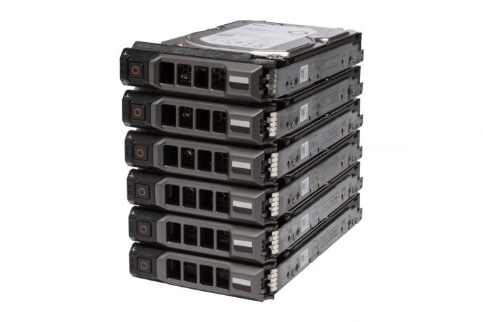 "Dell 8TB SAS 7.2k 3.5"" 12G 512e Hard Drives **6 Pack**"