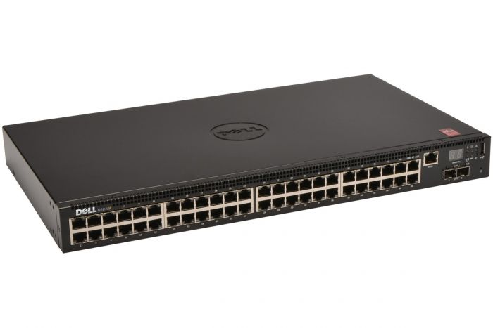 Dell Networking N2048P 1Gb Layer 3 PoE+ Switch - Ref