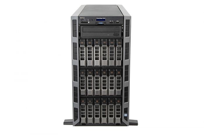 Dell PowerEdge T630 1x18, 2 x E5-2680v3 2.5GHz Twelve-Core, 128GB, 18 x 6TB 7.2k 4Kn SAS, PERC H730P, iDRAC8 Exp