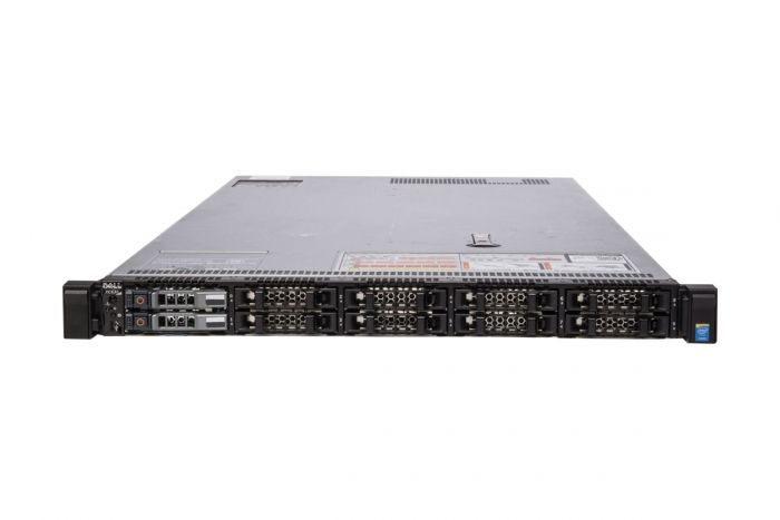 "Dell PowerEdge R630 (XC630) 1x10 2.5"", 2 x E5-2620v3 2.4GHz Six-Core, 32GB, 2 x 1.8TB 4Kn SAS, PERC H730, iDRAC8 Ent"