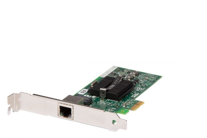HP NC110T 1Gb RJ-45 Single Port Full Height Network Card - 434982-001