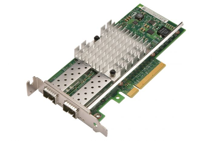 Dell Intel X520-DA2 10Gb Dual Port Low Profile Network Card - E10G42BTDA - XYT17
