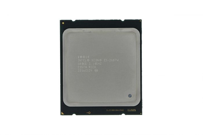 Intel Xeon E5-2687W 3.1GHz Eight-Core CPU SR0KG